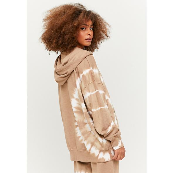 Batik Hoodie mit Reißverschluss