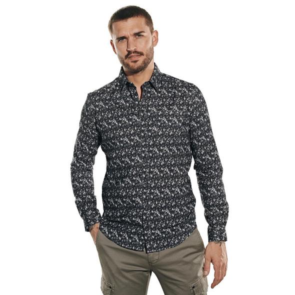 Langarm-Hemd in Cordqualität