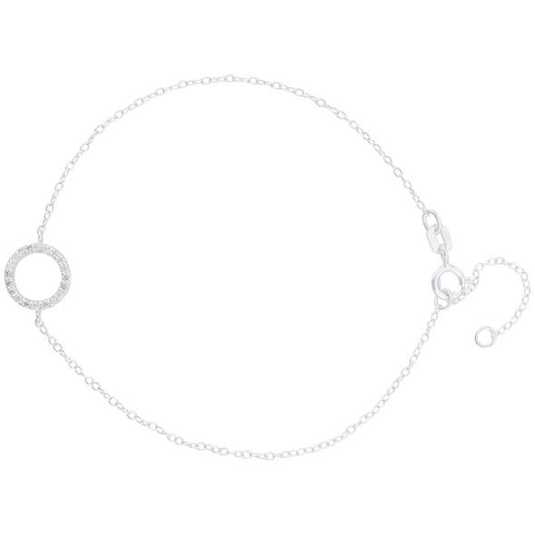 Armband - Silver Circle