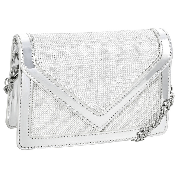 Handtasche - Silver Bling