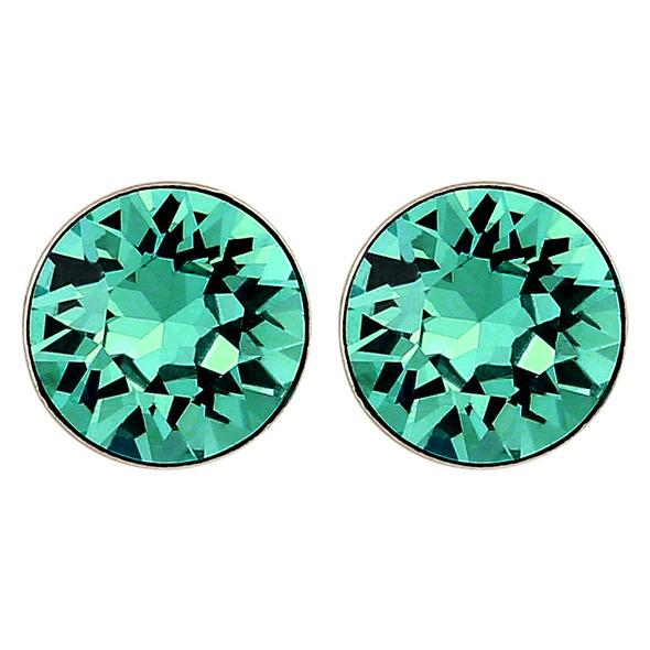 Ohrstecker - Green Crystal