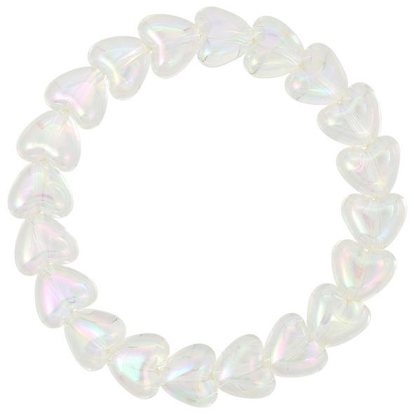 Armband - Transparent Heart