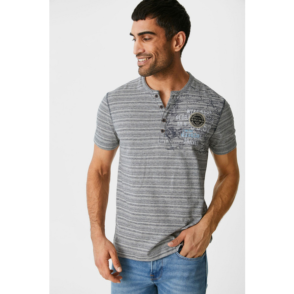 T-Shirt - gestreift