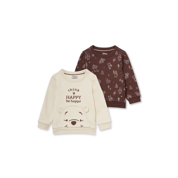 Multipack 2er - Winnie Puuh - Baby-Sweatshirt