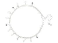 Fußkette - Whtie Pearl