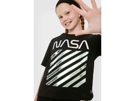 NASA - Set - Kurzarmshirt und Haarband - Bio-Baumwolle