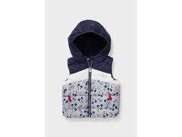 Micky Maus - Baby-Steppweste - recycelt